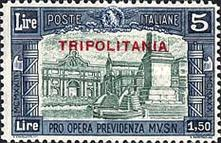 "[Not Issued Stamps Overprinted ""TRIPOLITANIA"", Typ AQ3]"