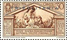 "[The 2000th Anniversary of the Birth of Roman Poet Vergil - Not Issued Stamps Overprinted ""TRIPOLITANIA"", Typ AS3]"