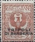"[Italian Postage Stamps Overprinted ""TRIPOLI DI BARBERIA"" - Not Issued, type C1]"