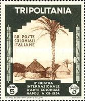 [The 2nd International Colonial Exhibition - Naples, type DB]