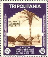 [The 2nd International Colonial Exhibition - Naples, type DB3]