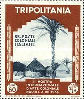 [The 2nd International Colonial Exhibition - Naples, type DB4]