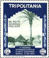 [The 2nd International Colonial Exhibition - Naples, type DB5]