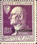 "[The 100th Anniversary of the Death of Alessandro Volta - Not Issued Stamps Overprinted ""Tripolitania"", type Q]"