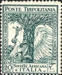 [The 46th Anniversary of Italian Africa Company, type X]