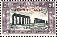 "[Not Issued Stamps Overprinted ""TRIPOLITANIA"", type Y1]"