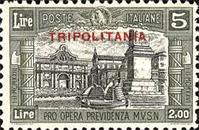 "[Not Issued Stamps Overprinted ""TRIPOLITANIA"", type Y3]"