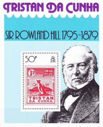 [The 100th Anniversary of the Death of Rowland Hill, 1795-1879, type ]