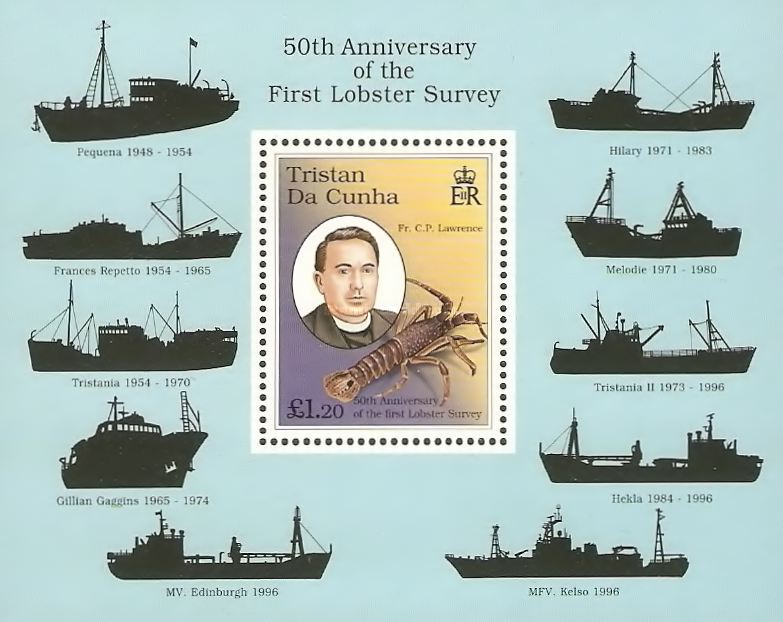 [The 50th Anniversary of First Lobster Survey - Lobster Trawlers, type ]