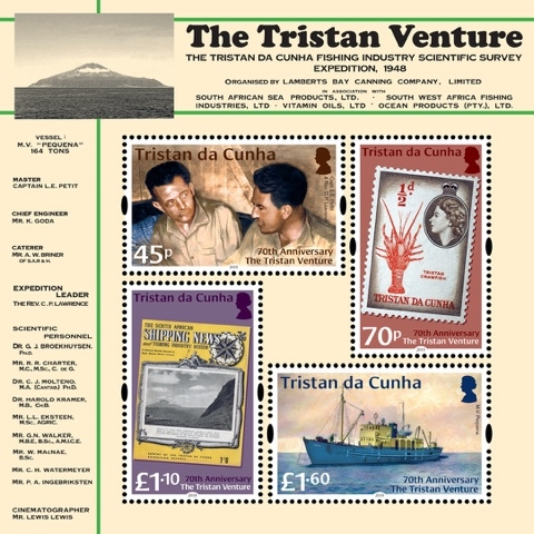 [The 70th Anniversary of the Tristan Venture, type ]