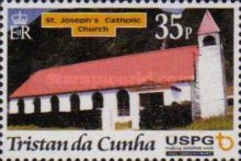 [Christmas - The 300th Anniversary of Arrival of First U.S.P.G. Missionary on Tristan da Cunha, type AAY]