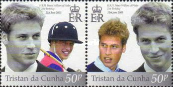 [The 21st Anniversary of the Birth of Prince William, type ACW]