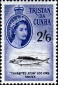 [Queen Elizabeth II and Marine Life, type AM]