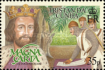 [The 800th Anniversary of the Magna Carta, type ARV]