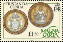 [The 800th Anniversary of the Magna Carta, type ARY]