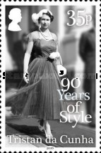 [The 90th Anniversary of the Birth of Queen Elizabeth II, type ASZ]