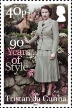[The 90th Anniversary of the Birth of Queen Elizabeth II, type ATA]
