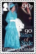 [The 90th Anniversary of the Birth of Queen Elizabeth II, type ATB]