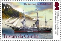 [Ships - The 140th Anniversary of the Wreck of the Mabel Clark, type AVS]