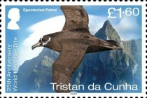 [Birds - The 25th Anniversary of Gough Island as a UNESCO as a World Heritage Site, type AWZ]
