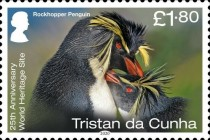 [Birds - The 25th Anniversary of Gough Island as a UNESCO as a World Heritage Site, type AXA]