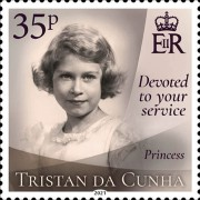 [Devoted to Your Service - The 95th Anniversary of the Birth of Queen Elizabeth II, Typ AYH]