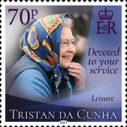 [Devoted to Your Service - The 95th Anniversary of the Birth of Queen Elizabeth II, Typ AYK]