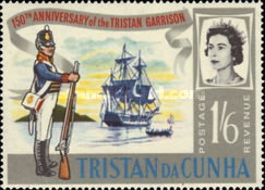 [The 150th Anniversary of Stationing of the First Garrison on Tristan da Cunha, Typ BX2]
