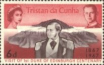 [The 100th Anniversary of the Visit of the First Duke of Edinburgh to Tristan da Cunha, type CF1]