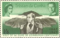[The 100th Anniversary of the Visit of the First Duke of Edinburgh to Tristan da Cunha, type CF2]