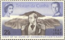 [The 100th Anniversary of the Visit of the First Duke of Edinburgh to Tristan da Cunha, type CF3]