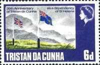 [The 30th Anniversary of Tristan da Cunha as a Dependency of St. Helena, type CK]