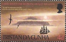 [United Society for the Propagation of the Gospel in Tristan da Cunha, type CQ]