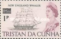 [Queen Elizabeth and Ships Stamps of 1965 Surcharged, Typ CZ]