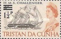 [Queen Elizabeth and Ships Stamps of 1965 Surcharged, Typ DA]