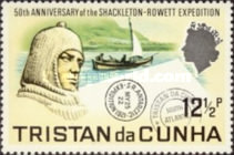 [The 50th Anniversary of Shackleton-Rowett Expedition, Typ DN]