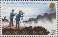 [The 10th Anniversary of Return to Tristan da Cunha, Typ EQ]