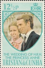 [Wedding of Princess Anne and Mark Phillips, Typ ET1]