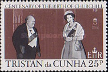 [The 100th Anniversary of the Birth of Winston Churchill, 1874-1965, Typ FA]