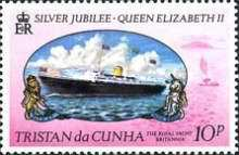 [The 25th Anniversary of Regency of Queen Elizabeth II, type FQ]