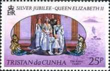 [The 25th Anniversary of Regency of Queen Elizabeth II, type FS]