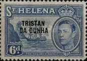[St. Helena Postage Stamps Overprinted
