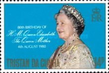 [The 80th Anniversary of the Birth of Queen Elizabeth The Queen Mother, 1900-2002, Typ IF]