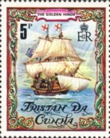 [The 400th Anniversary of Sir Francis Drake's Circumnavigation of the World, Typ IG]
