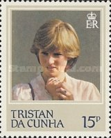 [The 21st Anniversary of the Birth of Princess Diana of Wales, 1961-1997, type JY]