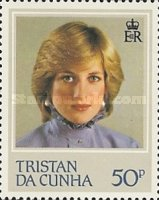 [The 21st Anniversary of the Birth of Princess Diana of Wales, 1961-1997, type KA]