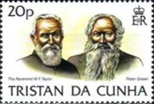 [History of Tristan da Cunha, type LA]