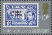 [The 150th Anniversary of St. Helena as British Colony, type LJ]