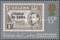 [The 150th Anniversary of St. Helena as British Colony, type LK]