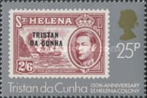 [The 150th Anniversary of St. Helena as British Colony, type LL]